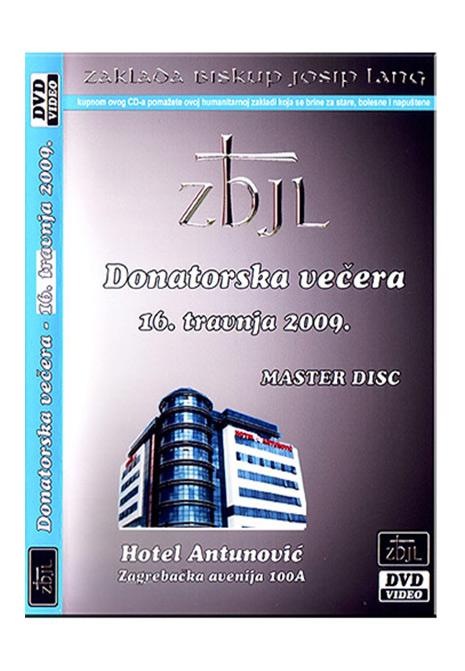 DVD / Donatorska večera