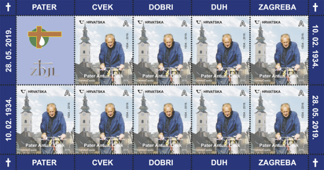 "Hrvatska pošta pustila je u optjecaj prigodnu poštansku marku ""Pater Antun Cvek – dobri duh Zagreba"""