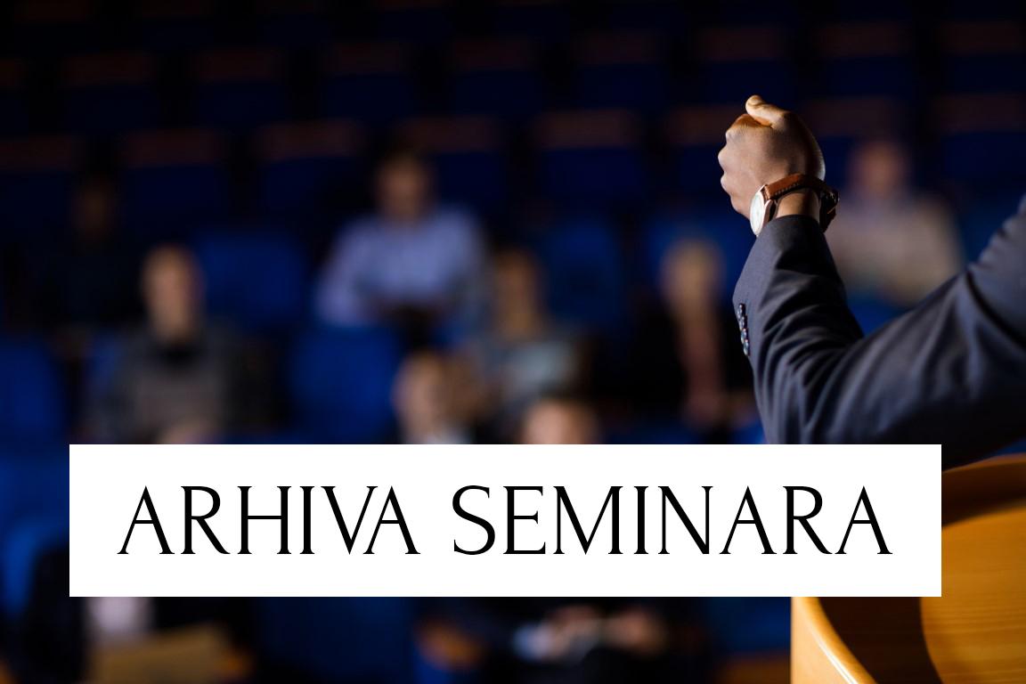 Seminar Palmotićeva, 17-18.11.2018.